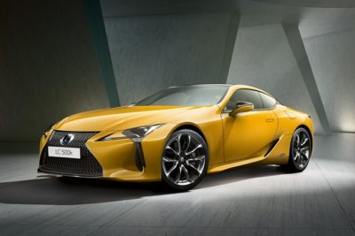 lexus lc yellow edition 2018