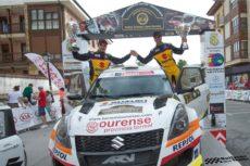 Javier Pardo y Adrián Pérez vencedores en el Rallye Cristian López
