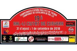 19° Rallye de Tierra Ciudad de Cervera