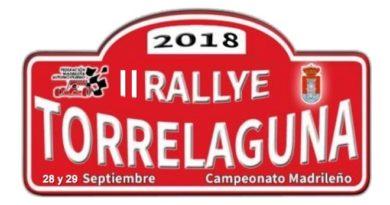 placa rallye torrelaguna 2018
