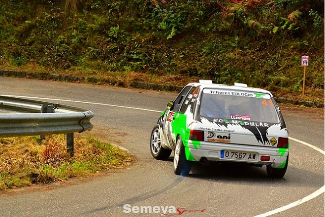 J M Mora ganador regional Rallye Villa de Llanes 2018