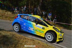 Óscar Palacio entre los mejores del Rallye Princesa de Asturias