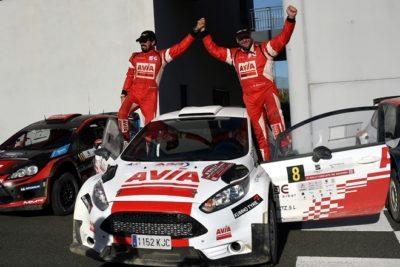 Gorka Eizmendi profeta en su tierra, gana el 4º Rallye de Tierra Circuito de Navarra