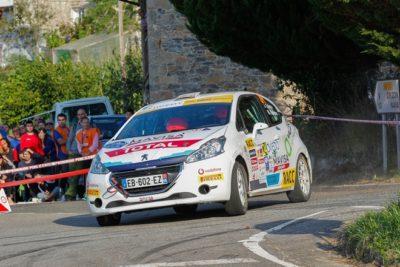 Jan Solans logra su primera victoria en la Peugeot Rally Ibérica