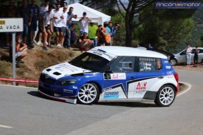 Noriego-Caniego no dan opción en el Rallye de la Vendimia