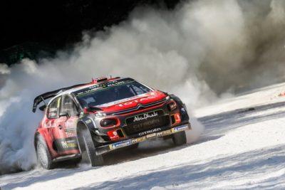 Citroën mordió el polvo, las piedras y el fuego
