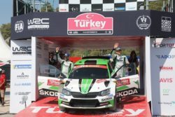 wrc2 rallye turquia kopecky skoda podio 2018