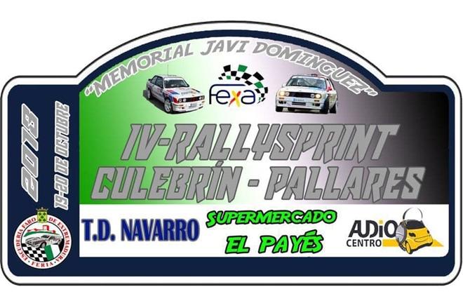 RS Culebrin-Pallares 2018 placaRS Culebrin-Pallares 2018 placa