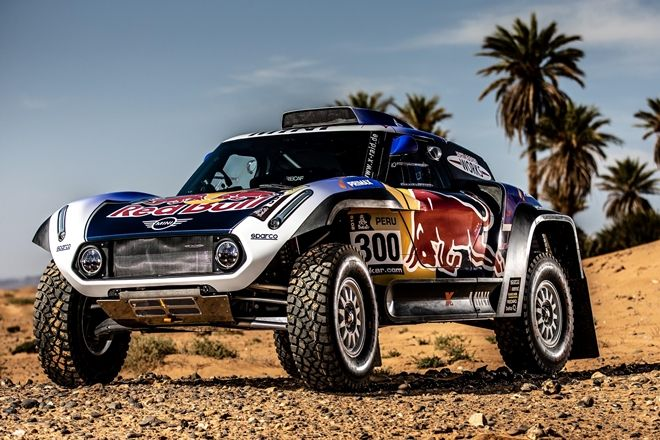 despres sainz peterhansell mini x-raid dakar 19
