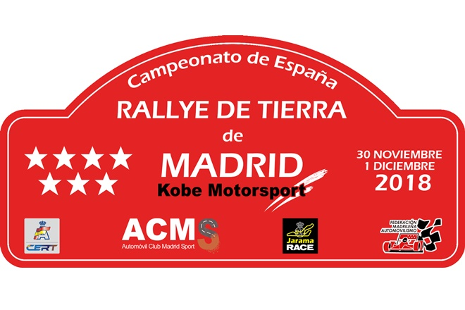 rallye tierra madrid 2018 placa