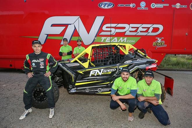 Dakar Font equipo