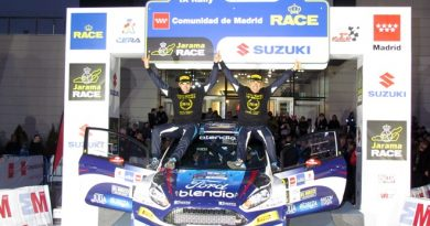 abrazo fuster ares rallye race madrid 2411