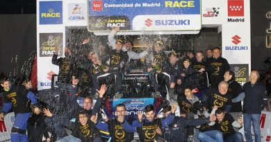 podio fuster equipo rallye madrid ford fiesta llanes ms