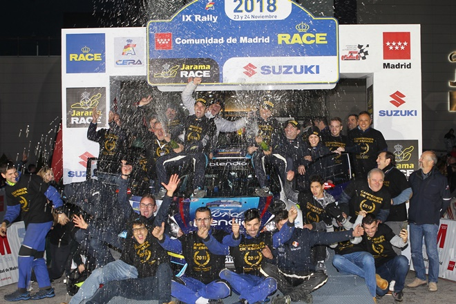 podio fuster equipo rallye madrid ford fiesta llanes ms
