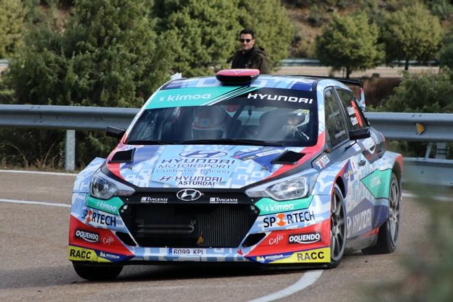 rallye CAM RACE Madrid Suarez hyundai i20 r5