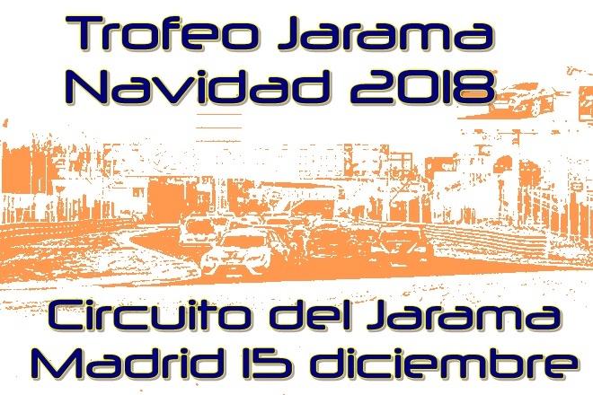 Cartela Trofeo Jarama Navidad 2018