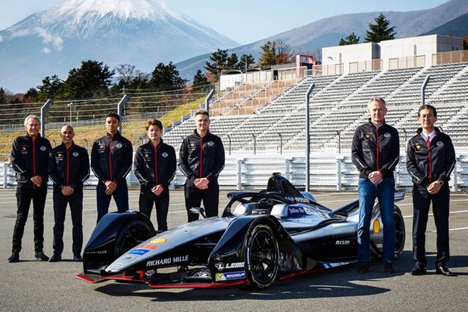 formula e equipo Nissan Nismo 2018-19