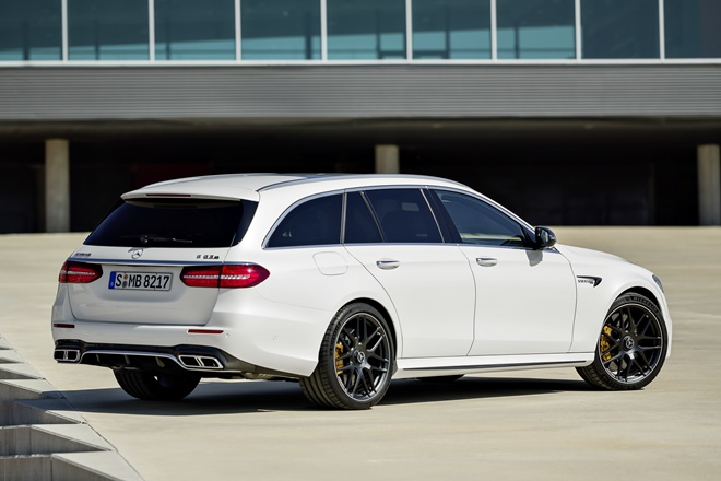 Ficha Mercedes-Benz Clase E AMG Estate 2016