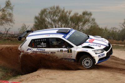 Xevi Pons culmina la temporada ganando el Rallye de Madrid