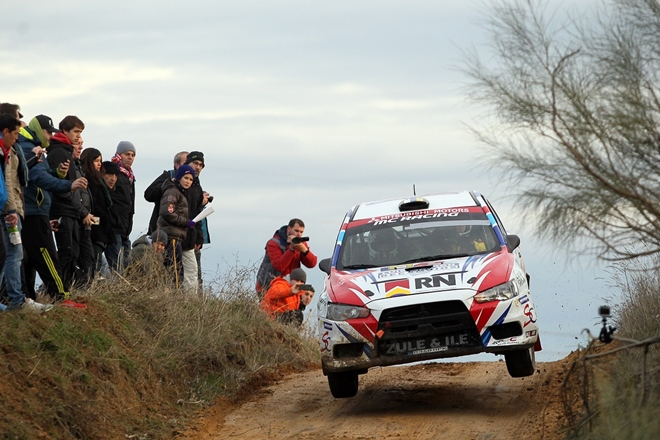 rallye cert madrid quintana mitsubishi evo cup 0412