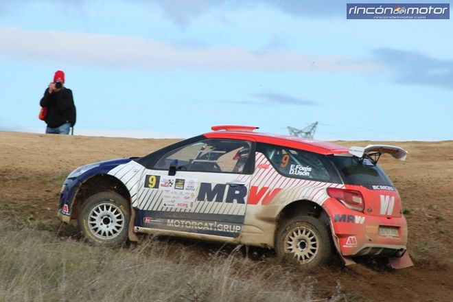 rallye tierra madrid fores ds3 r5