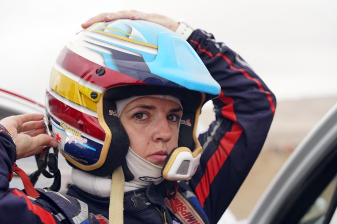 Dakar 19 Gutierrez casco 1601