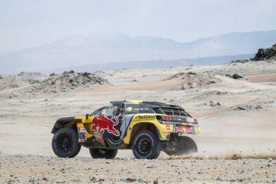Cuarta de Loeb que regresa al podio