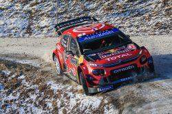 WRC Monte carlo Ogier C3 WRC 2601