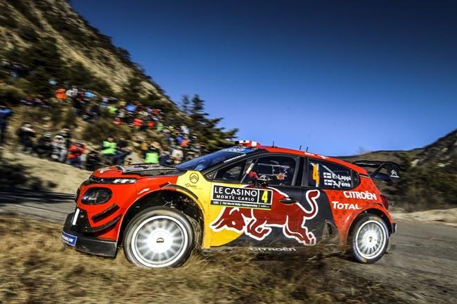 WRC Monte carlo loeb C3 WRC 2601