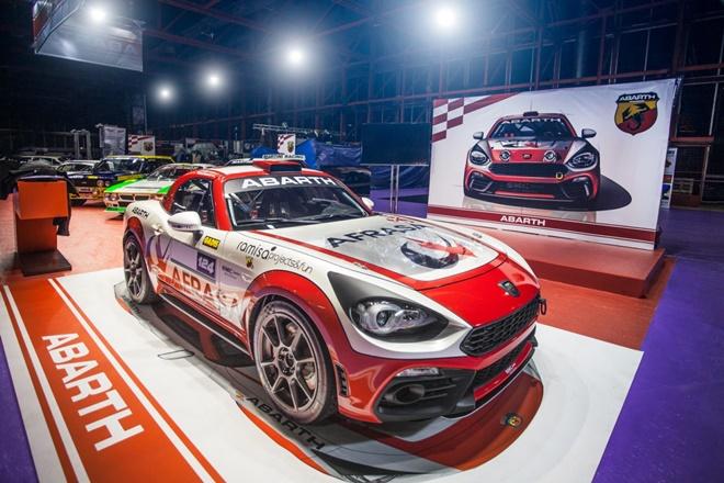 Abarth 124 Rallye 2018
