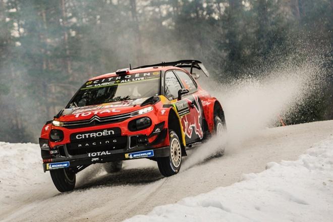 Lappi Citroën C3 WRC Rally Suecia etapa 2