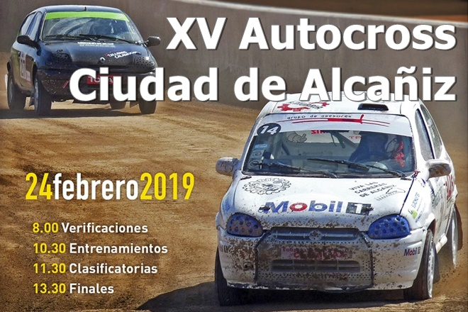 autocross alcaniz 2019 cartela