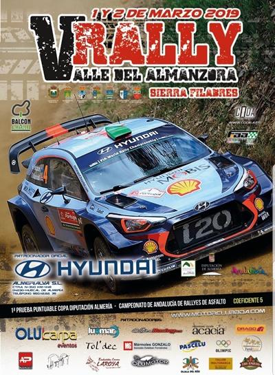 cartel rallye almanzora 2019