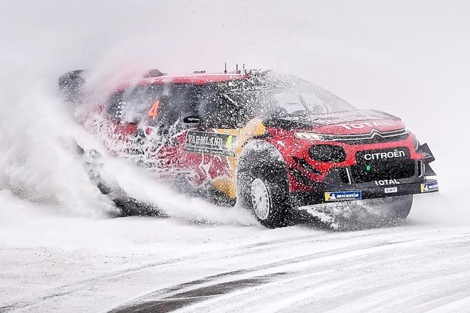 suecia wrc Lappi Citroën etapa 3