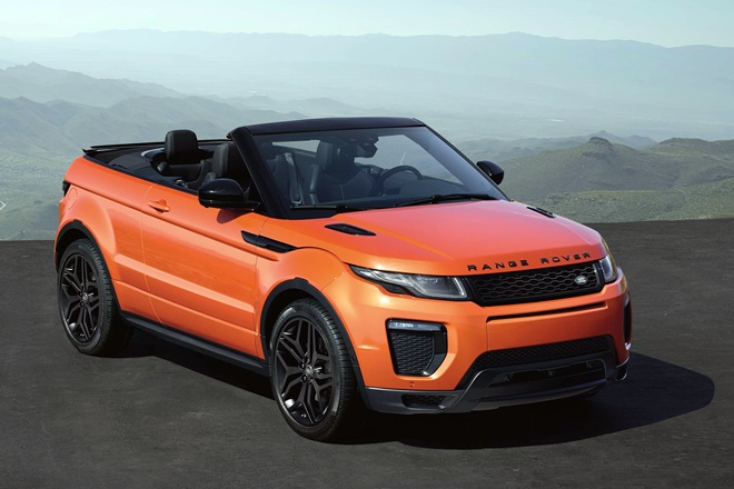 Land Rover Evoque Convertible 2016 ficha