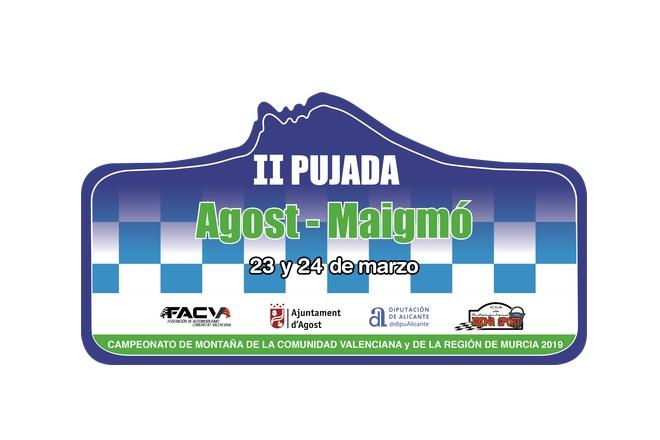 Subida Agost-Maigmo 2019 placa