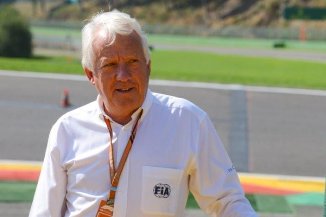 charlie whiting DEP f1 director 1403