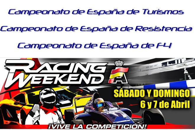raceweekend 1 2019 navarra cartela