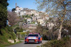 rallye tour de corse neuville hyundai i20 wrc etapa 3