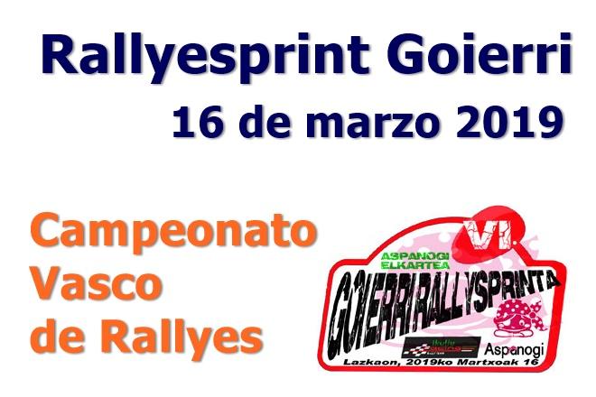 rallysprint goierri 2019