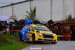 Palacio y Velasco repiten victoria en el Rallye Villa de Tineo 2019