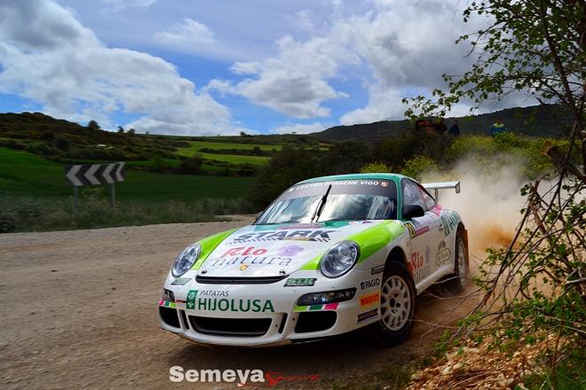 CERT Rallye Navarra Vallejo Porsche