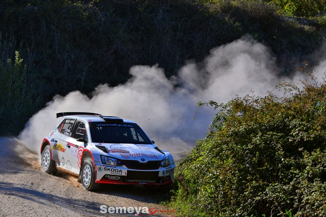 CERT Rallye Navarra pardo Fabia