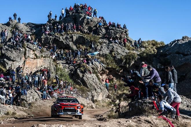 WRC Argentina Ogier Citroen C3 etapa 3
