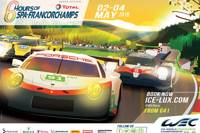 wec 6h spa francorschamps 2019 cartel