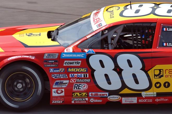 NASCAR Euro Series Franciacorta vilarino racing engeenering