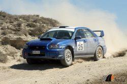 Tramo tierra Robres Gene Subaru Impreza