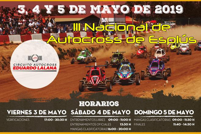 autocross esplus 2019 cartela