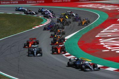 Hamilton y Bottas vuelven a protagonizar un doblete mas de Mercedes-AMG