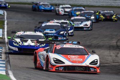 Rueda-Saravia dan en Hockenheim el primer triunfo al McLaren 720 S de Teo Martín